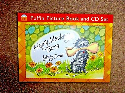 Hairy Maclary's Bone. Book and audio CD. By Lynley Dodd (Paperback, 1986)