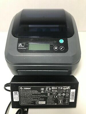 ZEBRA GX420D DESKTOP Direct Thermal Label Printer with