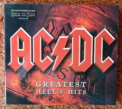 ACDC AC/DC Greatest Hell's Hits, Best of, 2 CD's, 38 Tracks