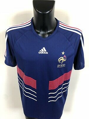Maillot Foot Ancien Equipe De France Taille L