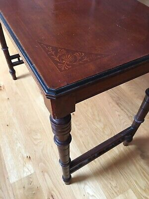 Victorian/Edwardian side table. Perfect Laptop Table