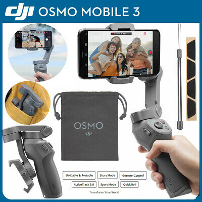 DJI OSMO Mobile 3 Stabilizer 3-Axis Handheld Gimbal for Gopro Camera iPhone 8 X