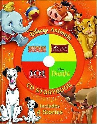 Disney Animals CD Storybook: The Lion King / 101 Dalmatians / Bambi / Dumbo by