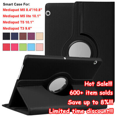 Tablet Funda Smart Case Magnetic Shell For Huawei MediaPad M5 8.4/10.8 T3 T5 10