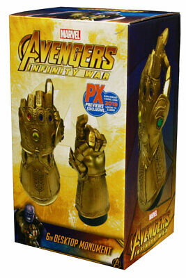 Marvel Infinity Gauntlet Snap Desk Monument Statue - SDCC 2019 Exclusive