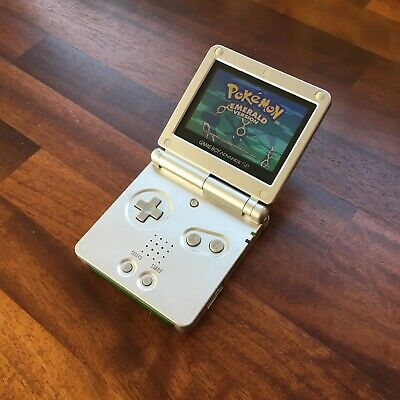 Nintendo Gameboy Advance SP AGS 101 IQue Silver Handheld Console GBA
