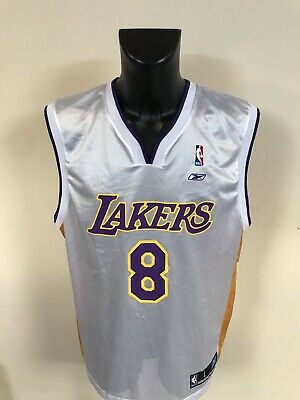 Maillot Basket Ancien Nba Lakers Numero 8 Bryant Taille L