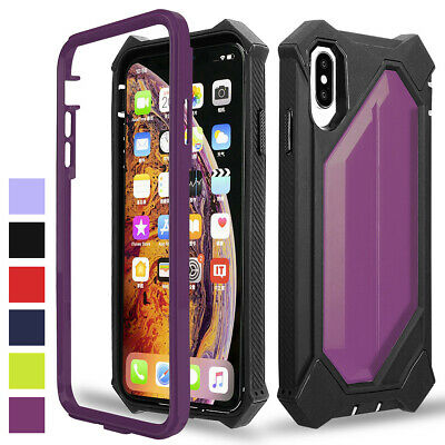 Heavy Duty Protection Shockproof Hybrid Case For iPhone 6 7 8 Plus XR X XS Max