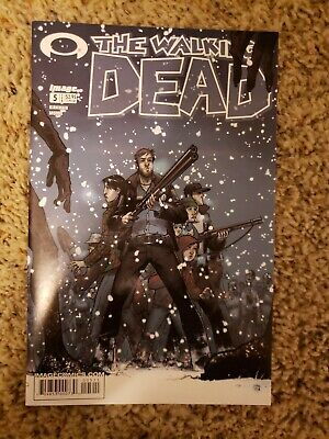 The Walking Dead #5 (Feb 2004, Image) 1st Print NM Amazing condition!