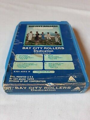 BAY CITY ROLLERS- Dedication 8-Track Tape