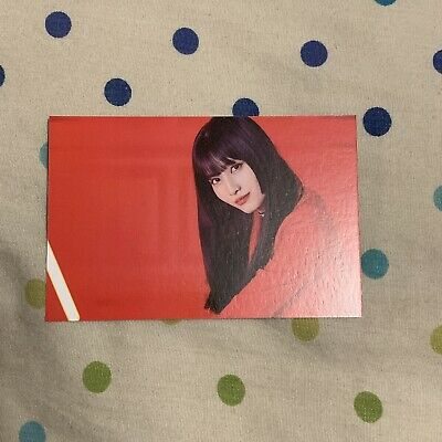 Twice Momo Official Twicelights Trading Card Photocard Horizontal Ver