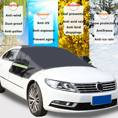 Car Windscreen Cover Anti Snow Frost Ice UV Protector Windshield Sun Shade AU ^