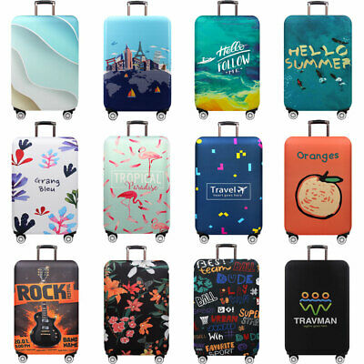 "Travel Luggage Protective Cover Elastic Trolley Suitcase Cover Protector 18""-32"""