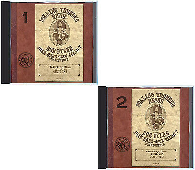 1975 BOB DYLAN Rolling Thunder Revue, one LIVE full show on 2 CDs