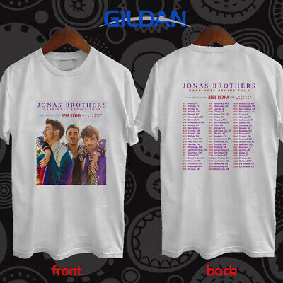 Jonas Brothers Happiness Begins tour concert 2019 tees S-3XL
