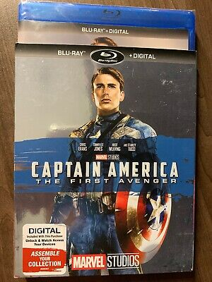 Captain America The First Avenger Blu-Ray Slipcover Canada Bilingual NO DC LOOK