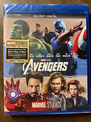 Avengers 1 Blu Ray Canada Bilingual NO DC LOOK Phase One Marvel MCU