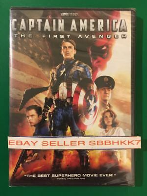 CAPTAIN AMERICA THE FIRST AVENGER DVD {{AUTHENTIC READ LISTING}} New Free Shipp