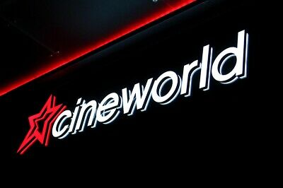 2 Adult Sunday Cinema Tickets Cineworld VALID For Sunday 25/8/19