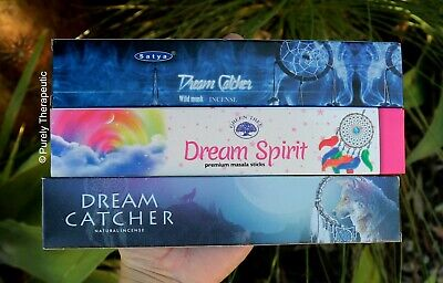 DREAM CATCHER INCENSE VARIETY PACK~ 15gms x 3 Wicca Smudge  Ritual Meditation