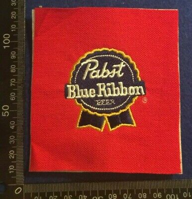 Embroidered Cloth Patch Badge Patchwork - Pabst Blue Ribbon Beer   (Dd73)