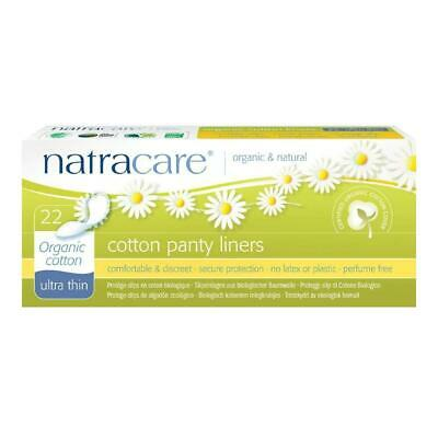 Natracare Organic Cotton Ultra Thin Panty Liners Leak Proof Sanitary 22 Pads