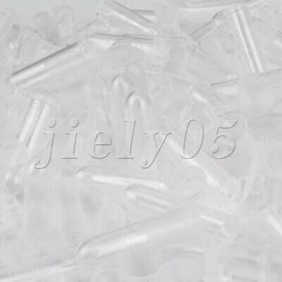 100pcs 2ml Transparent Polypropylene Plastic Centrifuge Tubes Chemistry Test