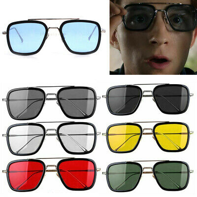 Spider-man Far From Home EDITH Glasses Tony Sunglasses Avengers Iron Man Glasses