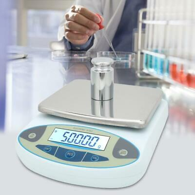 2kg 0.01g Electronic Lab Balance Scale High Precision with 2pcs 500g Weights