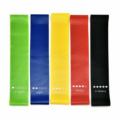 Gym Resistance Elastic Band Exercise Latex Rubber Fitness Training Stretch Belt