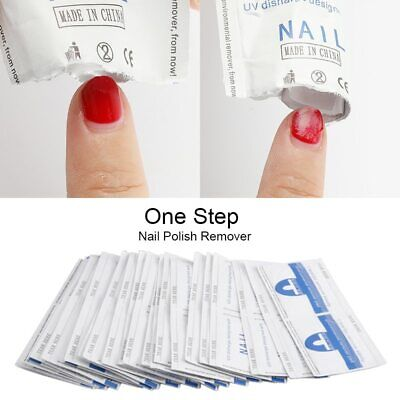 Gel Nail Polish Remover Lint-Free Wipes 20-100Pcs napkins for Manicure cleanser