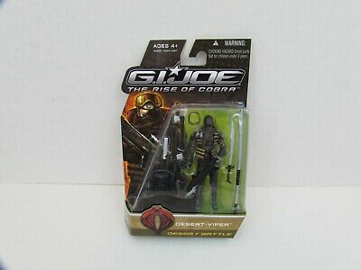 GI Joe The Rise of Cobra Desert Viper Desert Battle Action Figure Hasbro NOC