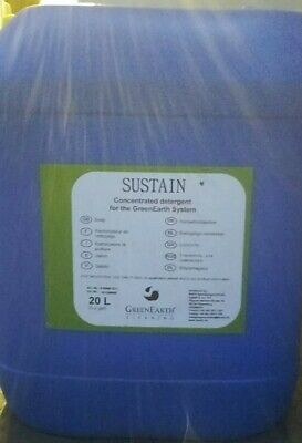 ^ Greenearth Systems Sustain 20L Dry Cleaning Laundry Detergent Silicone  11:21