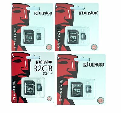 8GB 16GB 32GB 64GB Kingston 80MB/S Micro Sd SDHC Uhs-I Class10 Tf Speicherkarte
