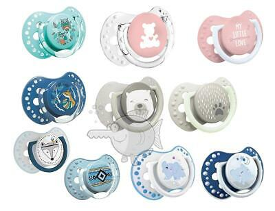 2Pcs 0-3m+ Dummy Pacifier Teat Nipple Soother Baby Soothe BPA Free LOVI