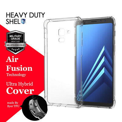 Samsung Galaxy J2 J5 J7 Pro A8 J8 2018 Clear Case Heavy Duty Tough Gel Cover