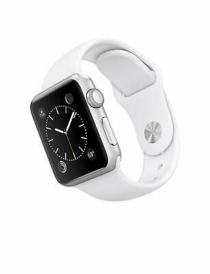 Apple Watch Series 1 42mm Silver Aluminium White Sport Bands Straps