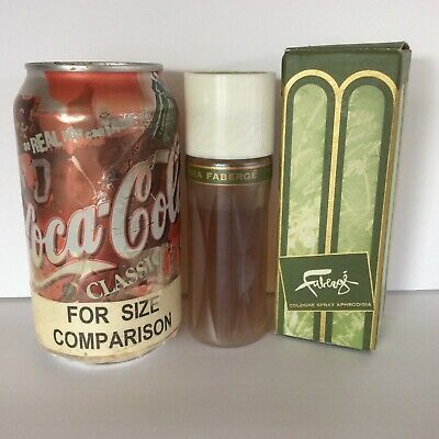 ~DUTCH AUCTION~ Faberge 1.75 oz Aphrodisia Spray Cologne in original package