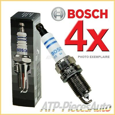 4x BOSCH BOUGIE D'ALLUMAGE SUPER PLUS LAND ROVER RANGE ROVER 1 3.5 85-90