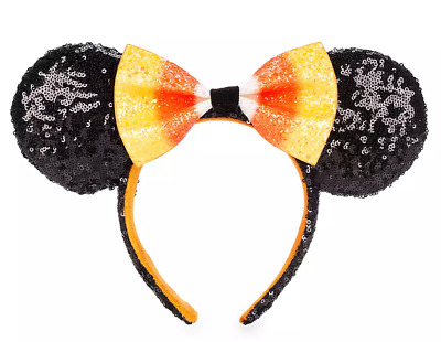 Disney Parks 2019  Minnie Mouse Candy Corn Ear Headband