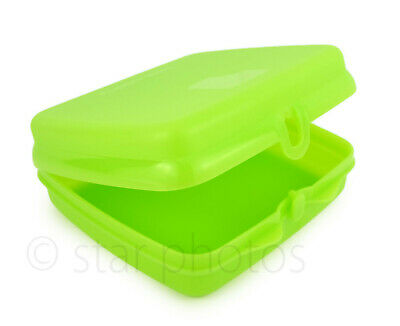 Tupperware Sandwich Keeper Lunch Container in Salsa Verde Green - NEW!