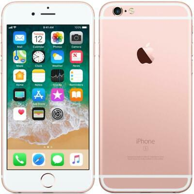 Apple iPhone 6S - 64GB - AT&T / Straight Talk / Net 10 / Cricket - Rose Gold