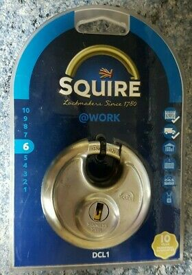 Squire Disc Padlock DCL1 70MM (DCL1)