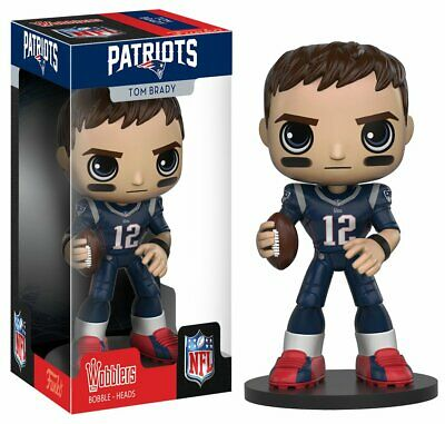 NFL - Tom Brady New England Patriots Funko Wacky Wobbler Bobble Head Damaged Box