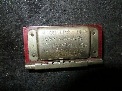 Vintage M. Hohner's Violin & Mandolin TRUTONE PITCH PIPE No. P1 Germany