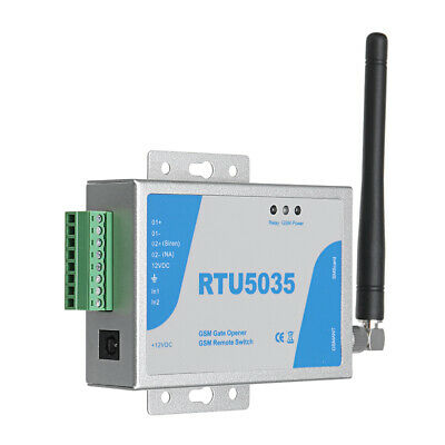 Wireless RTU5024 GSM Door Gate Opener Remote Control On/Off Switch Free Call SPE