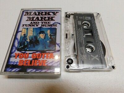Marky Mark and the Funky Bunch Cassette You Gotta Believe Audio Tape