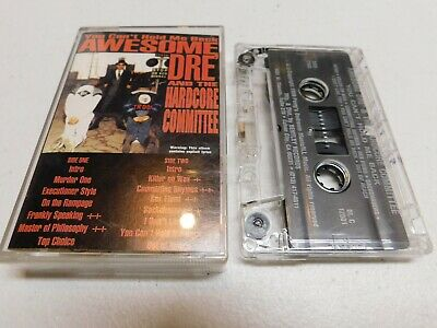 Awesome Dre and the Hardcore Committee Cassette You Can't Hold me Back Tape
