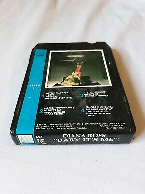 DIANA ROSS -Baby Its Me- 8 Track Tape