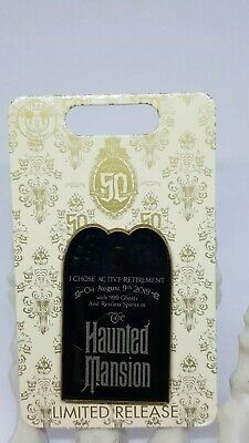 Disney Haunted Mansion 50th Anniversary August 9, 2019 Limited Release Pin New